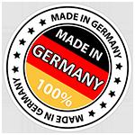 Fabricado enteramente en Alemania