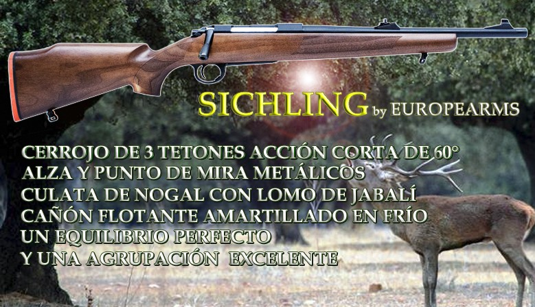 Rifle de cerrojo SICHLING by EUROPEARMS