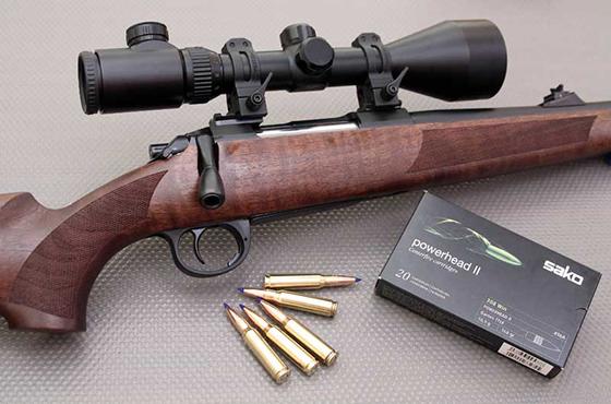 Rifle Sichling Prueba Revista Trofeo