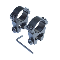 Anillas de carril 11mm, Altura 24mm, Ø30mm