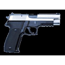Pistola NP22 9x9mm corredera cromada