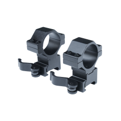 Anillas de aluminio desmontables de palomilla para carril 21mm, Altura 21mm, Ø30mm
